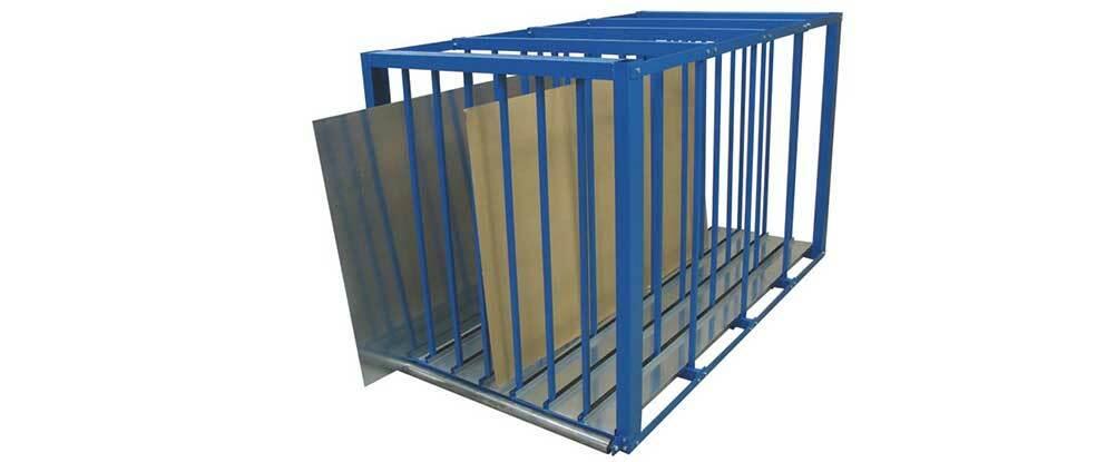 Blechlager-Box