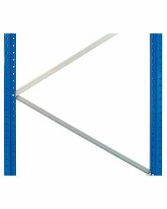Diagonalstreben, Länge 1217 mm, Tiefe 1100 mm, verzinkt