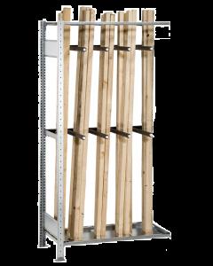Langgutregal, Anbauregal, H2000xB1000xT500 mm, verzinkt