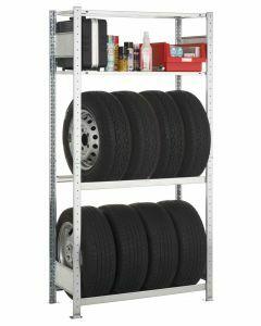 Garagenregal-Set, Grundregal, H2000xB1000xT400 mm