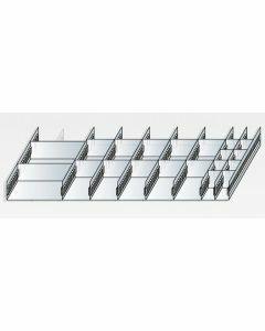 Schlitzwannen-Set 2 - für Schubladen 100 mm Höhe Art.-Nr.: 25051