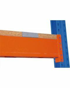Spanplatte - aufgelegt, Holmlänge 3900mm, Rahmentiefe 800mm