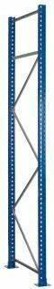 Rahmen - S635-B20, Höhe 8000mm, Tiefe 1100mm, RAL 5010 enzianblau/ verzinkt