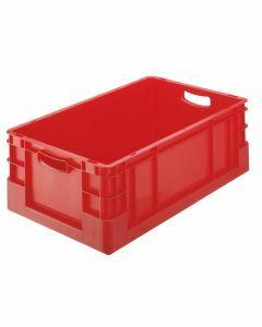 Euro-Stapelkasten, H120xB400xT600 mm, rot