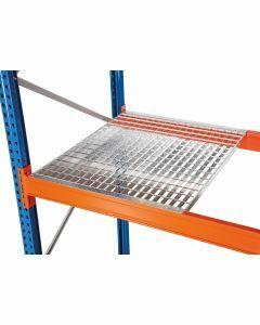 Gitterrost, Holmlänge 950 mm, Rahmentiefe 800 mm, Fachlast 760 kg, feuerverzinkt