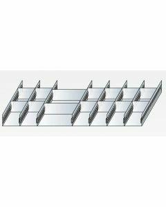 Schlitzwannen-Set 1 - für Schubladen 100 mm Höhe Art.-Nr.: 25050