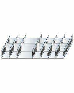 Schlitzwannen-Set 4 - für Schubladen 200 mm Höhe Art.-Nr.: 25060
