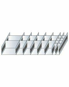 Schlitzwannen-Set 5 - für Schubladen 200 mm Höhe Art.-Nr.: 25061