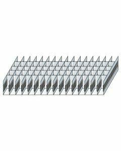 Schlitzwannen-Set 6 - für Schubladen 200 mm Höhe Art.-Nr.: 25062