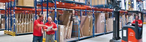 Lagerregale für die Industrie