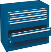 SCHULTE Schubladenblock RAL 5010 enzianblau