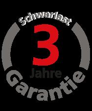 3 Jahre Garantie