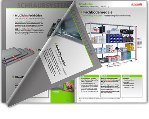 Schraubregal Katalog