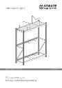 Montageanleitung Weitspannregale