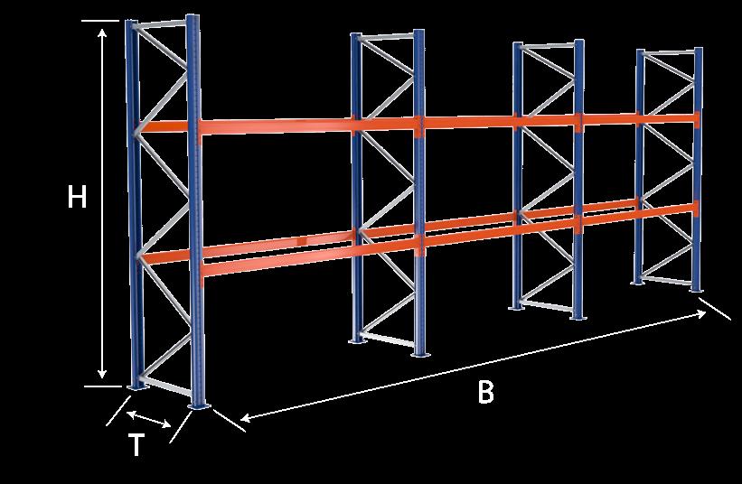 Palettenregal Konfigurator
